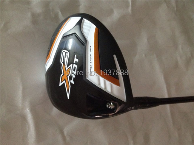 """X2 HOT Driver X2 HOT Golf Clubs Left Hand X2 HOT Golf Driver Loft 9""""/10.5"""" R/S/SR-Flex Graphite Shaft With Head Cover & Wrench(China (Mainland))"""