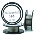 Nichrome wire 36 Gauge 100FT 0 1mm heating wire for RDA RBA Rebuildable Atomizer Coil E
