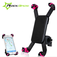 RockBros Bike Accessories Mobile Phone Holder Bag Bike Bicycle Handlebar Bag Cycling Riding Equipment Phone Holder Bag Parts
