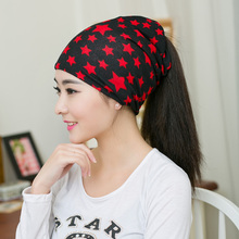Spring New Arrival 2 Colors Star Women'a hats Adjustable Size Beanie Girls Skullies Winter Hats For Women Autumn Thin Hat(China (Mainland))