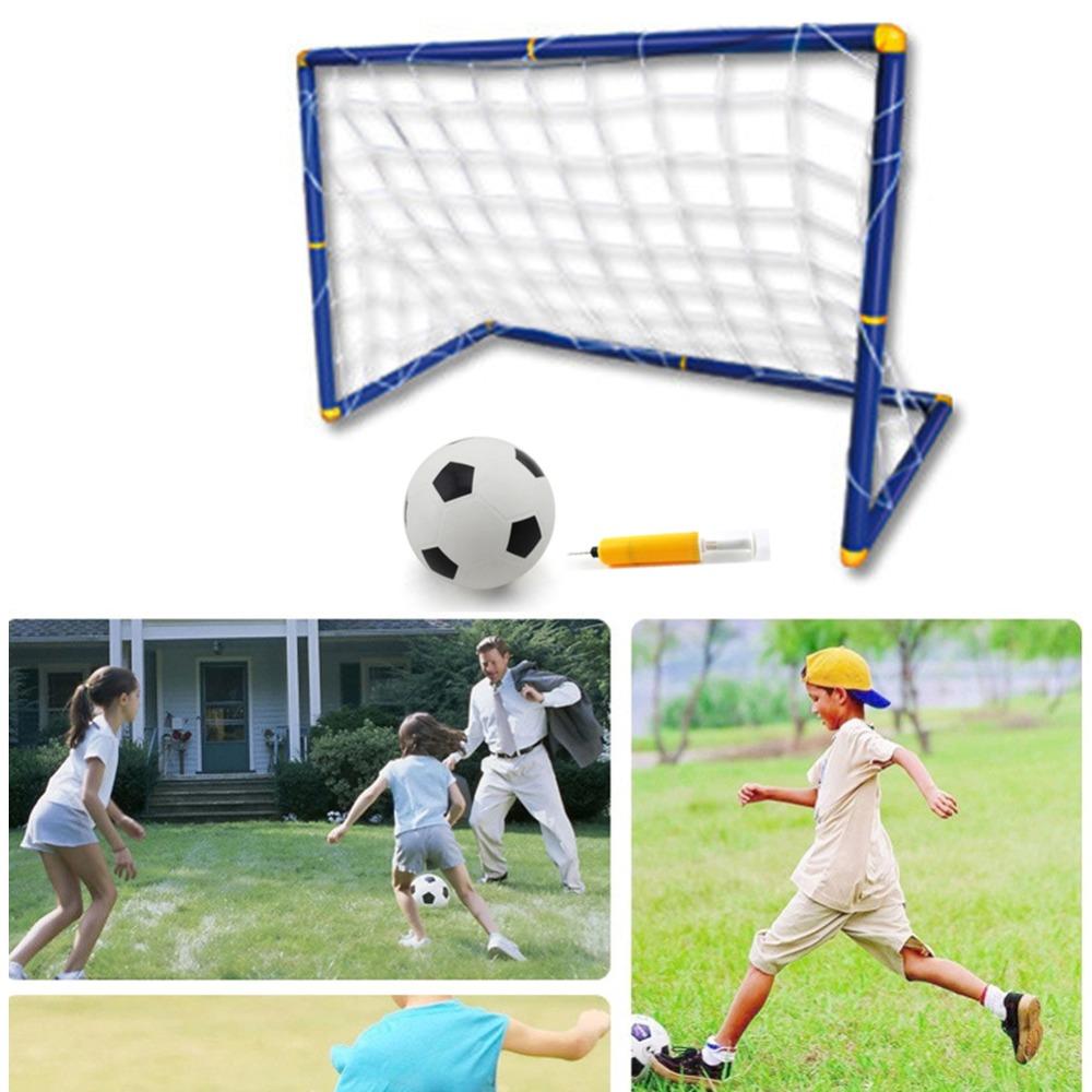 Best Soccer Nets For Backyard :  KidGoalFootballDoorSetFootballGateOutdoorIndoorToySportsjpg