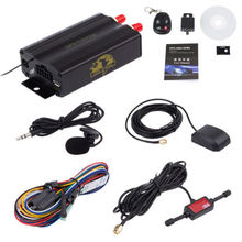 12V 1 set Auto Vehicle TK103B GPS Tracker Car GSM/GPRS Tracking Device with Remote Control rastreador veicula