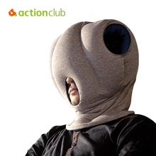 Free Shipping New 2015 Mini Glove Pillow Hot Sales Creative Siesta Pillows Ostrich Pillow For Travelling HH563