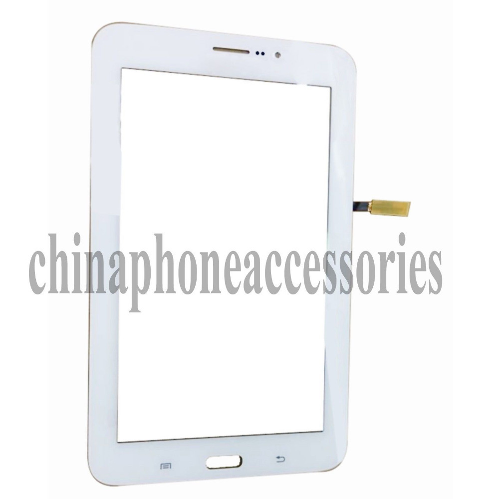 1pc Lot For Samsung Galaxy Tab 3 Lite 70 T111 Sm 3g Version White Replacement Touch Screen Digitizer Glass Lens Repair Part