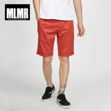 Mlmr Для мужчин прямые Сапоги выше колена растягивающиеся Однотонная одежда тонкий Рубашки домашние м | 218215519(China)
