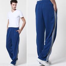 Men Pants Boutique Plus Size Hip Pop Pants Board Trousers 95% Cotton Sport Loose Pants Male Dance Pants Home Wear Men Bottom
