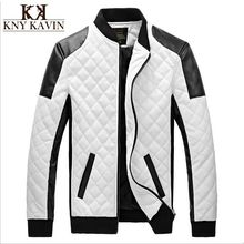 2015 winter spring mens white leather jackets and coats,jaqueta de couro masculina men biker jacket leather coats&jacket men(China (Mainland))