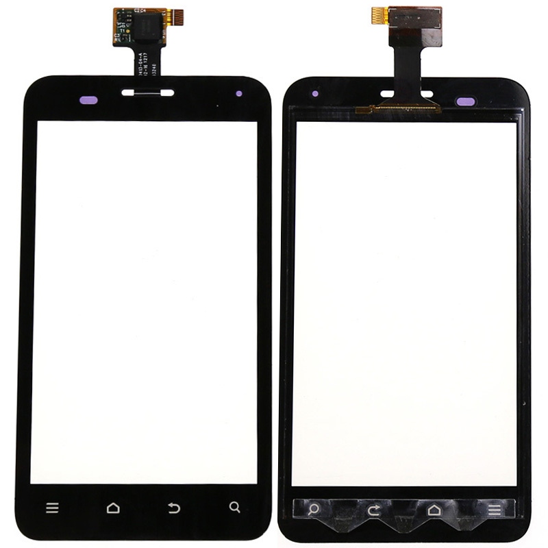 New For ZTE Blade C V807 Front Outter Digitizer Touch Screen Glass Lens Replacement Parts +Tracking Number