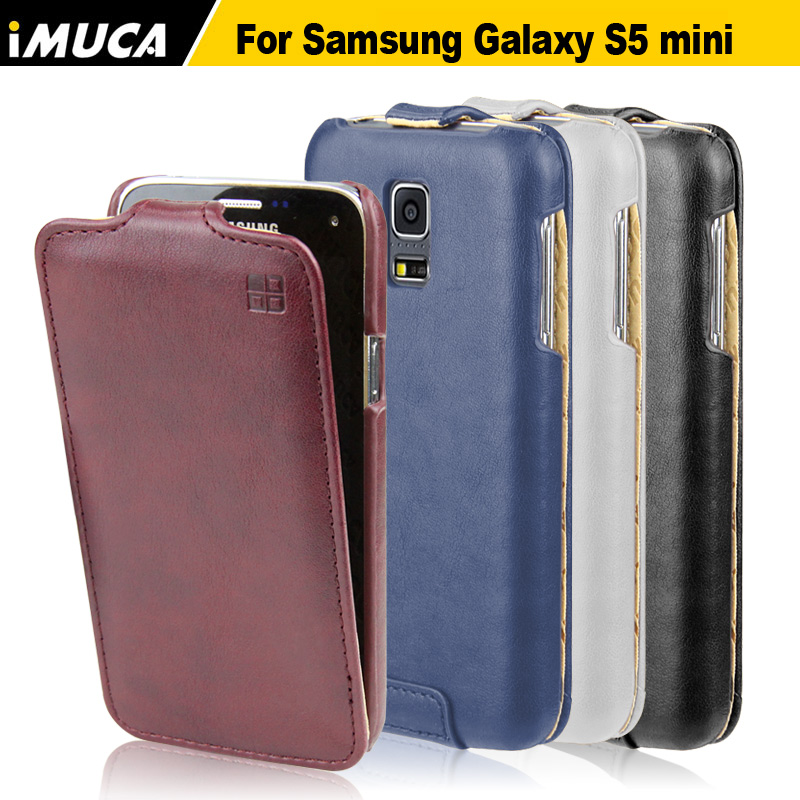 S5 mini Case Flip Cover Samsung galaxy s5 G870A G870W SM-G800 phone cases mobile bag imuca brand original - iMUCA Communication Co.,ltd store
