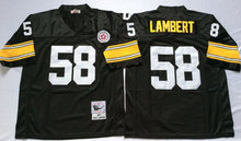 New 58 Jack Lambert 31 Donnie Shell 26 Rod Woodson Throwback 23 Mike Wagner 33 Merril Hoge 20 Bleier 68 L.C Greenwood(China (Mainland))