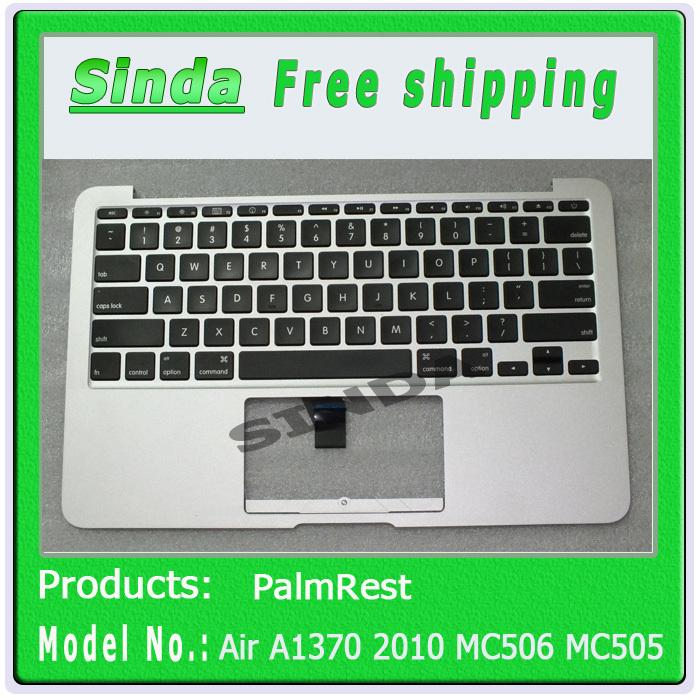For Macbook Air 11.6 A1370 2010 MC506 MC505 Topcase palmrest &amp; US keyboard , 100% working<br><br>Aliexpress