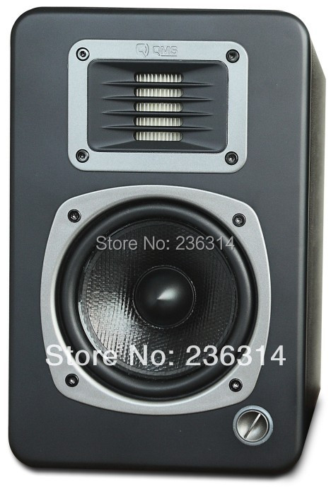 Qms Q4P professional monitor speakers balancing interface original audio cable free of charge hifi speakers black free shipping(China (Mainland))