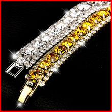 Buy 2017 Fashion Crystal Cubic Zirconia Charm Rome Bracelet Auden Rhinestone CZ Bracelet B9 ) for $3.59 in AliExpress store