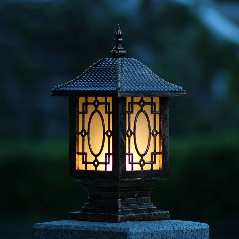 Illuminazione esterna colonne acquista a poco prezzo for Colonne da giardino