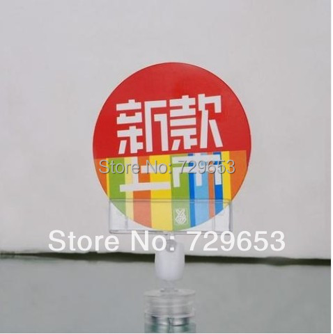 Magnet advertising poster display holder clipsPrice label holder price tag POP Clips (50piece/lot)(China (Mainland))