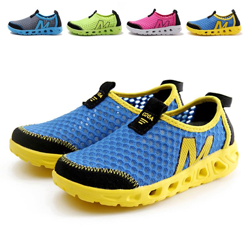 2015 summer slip on children shoes breathable shoes