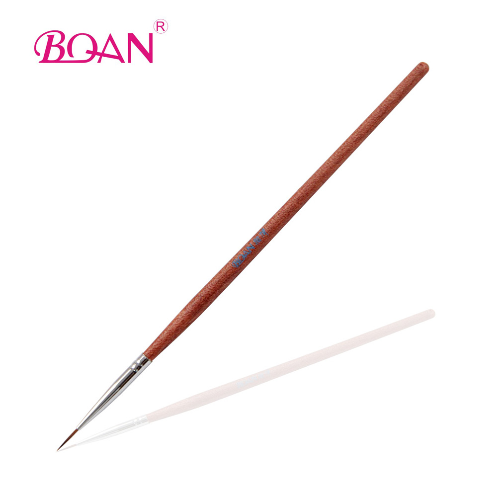 Free Shipping Rosewood Drawing Pen Nail Liner Brush for Nail Art Pen With Brush<br><br>Aliexpress