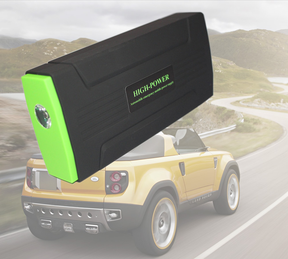 Multi-function 12V Car Jump Starter Portable Auto Emergency Battery Charger Vehicle Starting Car Power Bank(China (Mainland))