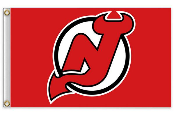 New Jersey Devils Flag NHL National Hockey League 3ft x 5ft Polyester Banner Flying 150* 90cm Custom flag sport(China (Mainland))