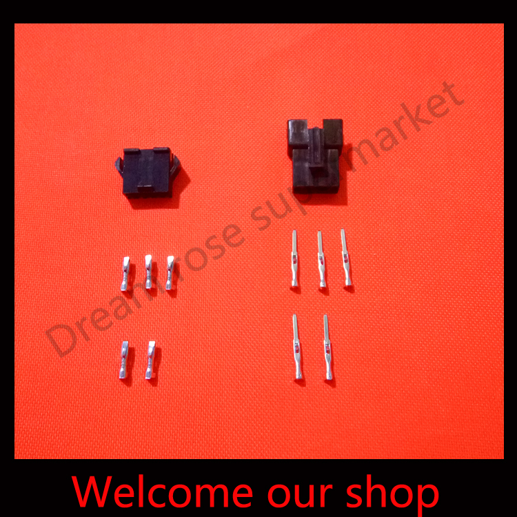20 sets 5Pin/way wire Connector 2.54mm SM-5P Kit JST2.54 electric coupler for E-Bike/ car /electronic circuit ect.<br><br>Aliexpress