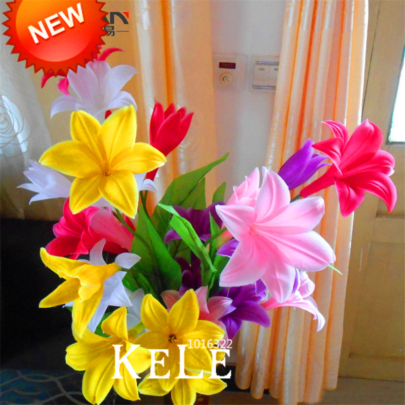 Sale!Color lily seeds cheap perfume lily seeds, mixing different varieties - 100 pcs/Bag,#A35P5E(China (Mainland))