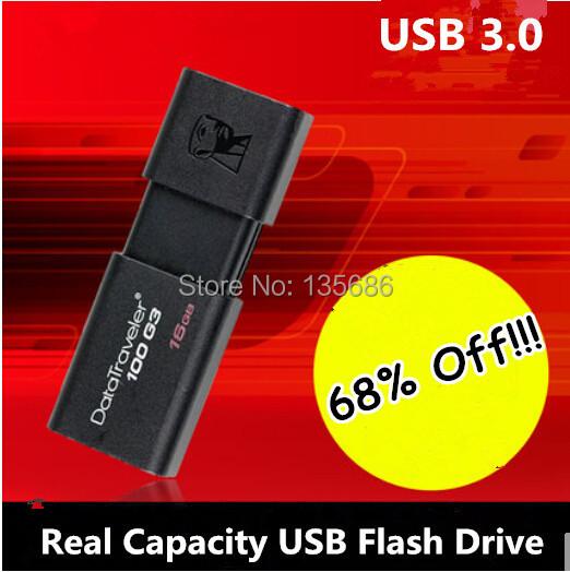 Fast Speed Black USB Flash Drive 64GB USB 3.0 Pen Drive 32GB 16GB 8GB 4GB Memory Stick U Disk Micro Smart Phone USB 3.0(China (Mainland))