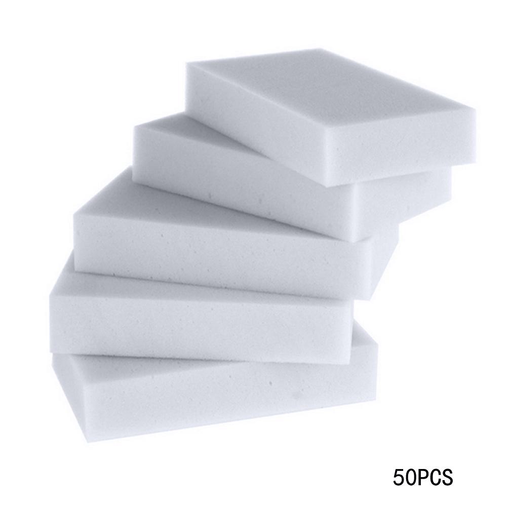 DIU# 50pcs/lot Multi-function Magic Melamine Sponge Eraser Cleaner Cleaning Sponges Kitchen Bathroom 100x60x20mm Free Shipping(China (Mainland))