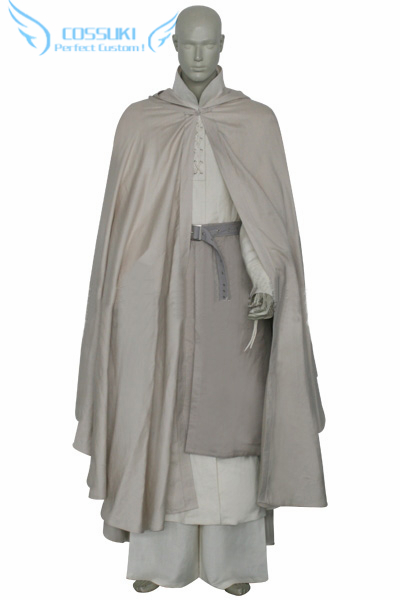 Newest High Quality Lord Of The Rings Gandalf Uniform Cosplay Costume ,Perfect Custom for You !