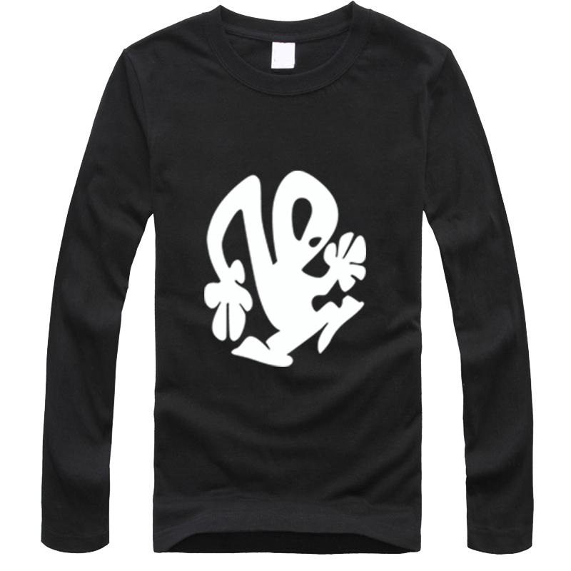 Fashion Summer design funny tee cute Long Sleeve T-shirt DJ Techno Plastikman Richie Hawtin Electro Plastic People T Shirt Men(China (Mainland))