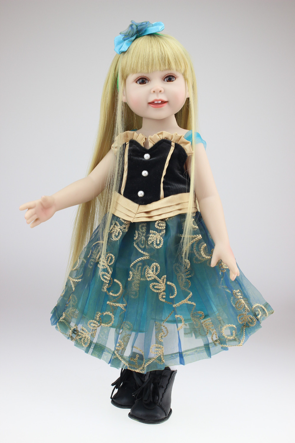 Фотография New design 18inches American girl doll Journey Girl Dollie& me New Year present great girl gift