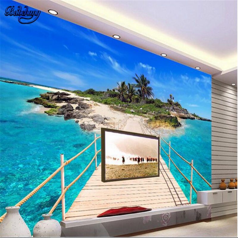 Compare prices on island lounge online shopping buy low for Mural haiwan