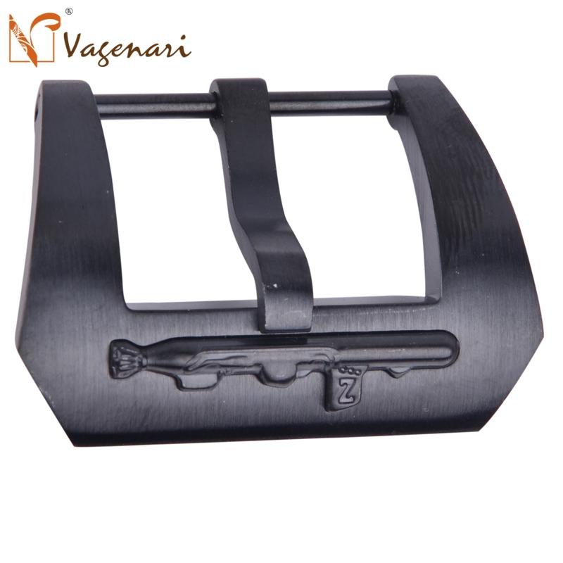 C053C Stainless Steel Brushed PVD Watch Buckle 24mm PAM - VAGENARI store