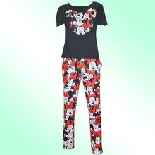 2016 Summer Sport Suit Set Camouflage Mouse Print Women Costume Tracksuit Fashion 2-pieces ( Sport T-Shirt + Pants) Female Sets