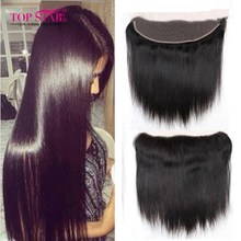 Brazilian Straight Lace Frontal Brazilian Lace Frontal Closure 1pcs Cheap Straight Virgin Hair With Frontal 8-20inch No Shedding