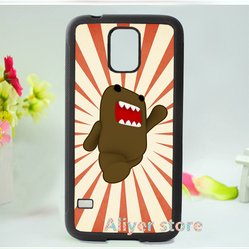 domo kun cell phone case cover for Samsung galaxy S3 S4 S5 S6 S7 Note 2 Note 3 Note 4 3 E1047(China (Mainland))