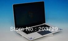Intel Pentium B970 2.3GHZ Laptop computer with full aluminium case &3550mAh battery 2GB 500GB notebook Free shipping dhl ems