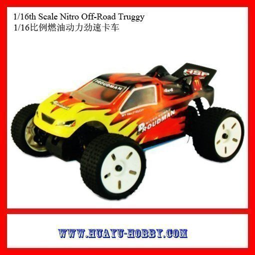 hsp nitro cars 1/16th Scale Nitro Off-Road Truggy car 94283 RTR(China (Mainland))