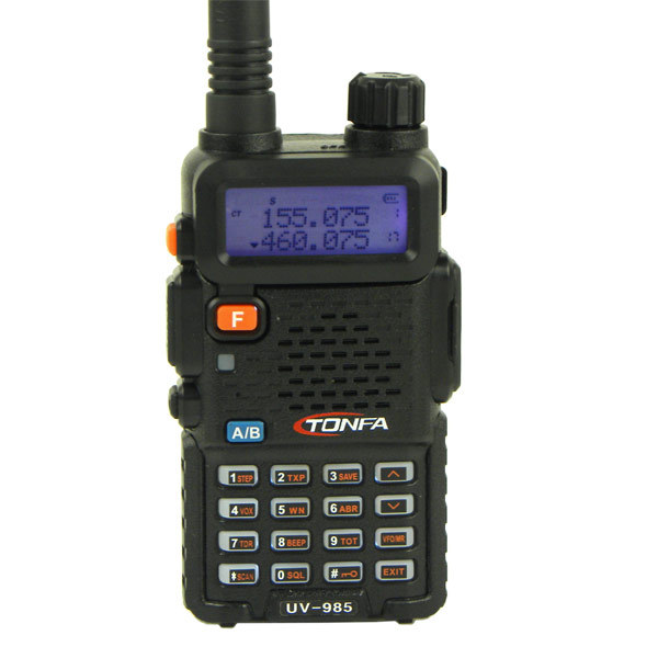 2016 Walkie Talkie Dual Band 8W 128CH UV-985 VOX DTMF Offset Two Way Portable Radio Interphone Transceiver A1002A(China (Mainland))