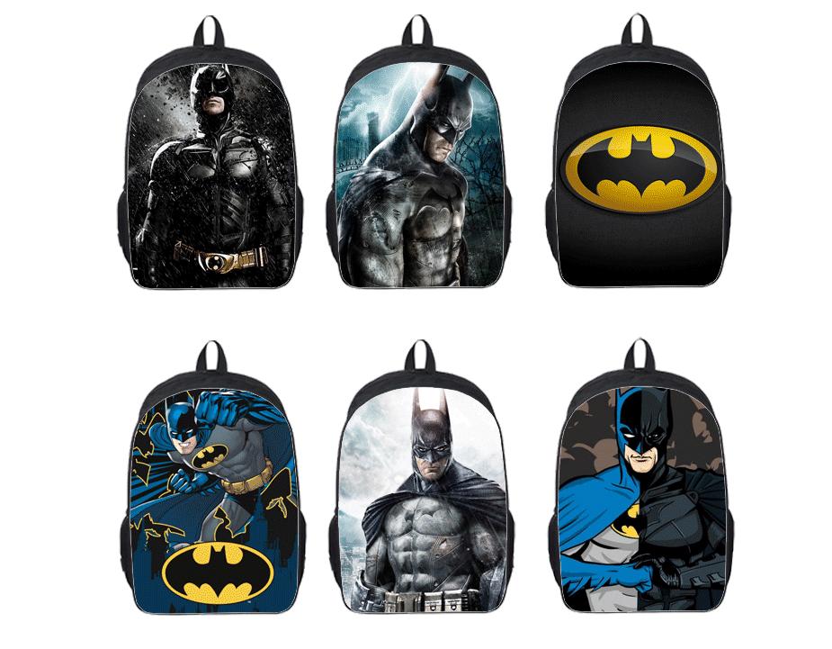 zoll rucksack batman taschen f r schule jungen batman rucksack coole. Black Bedroom Furniture Sets. Home Design Ideas