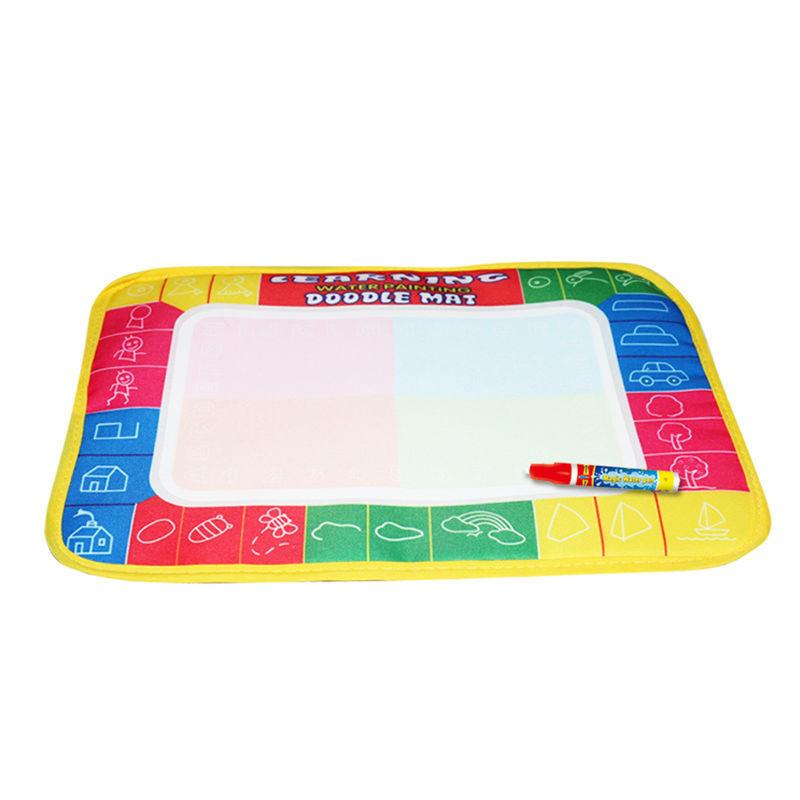 29X19cm 4 color Mini Water Drawing Mat Aquadoodle Mat&1 Magic Pen/Water Drawing board/baby play mat Free shipping TY0011(China (Mainland))