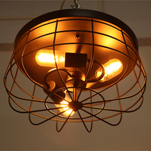 Fan ceiling lamps balcony study retro ceiling lamps nostalgia American bar lamp ceiling lamp Restaurant(China (Mainland))