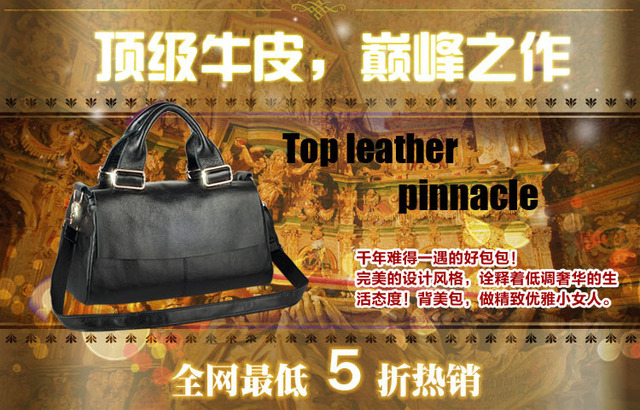 Female package 2013 new tide fashion lady one shoulder bag portable oblique cross true leather bags single-shoulder bag on sale