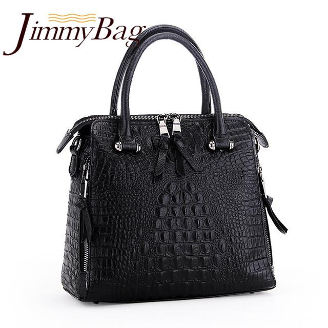 New fashion Women Alligator Handbags Genuine Leather Large crocodile Shoulder Bags Ladies Messenger Bag ,Jimmy Free shipping<br><br>Aliexpress