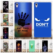 Buy Fashion Back Painted Soft TPU Back Cover Sony Xperia Z5 Premium Cell Phone Protective Case Sony Z5 Plus Silicon Cover for $1.47 in AliExpress store