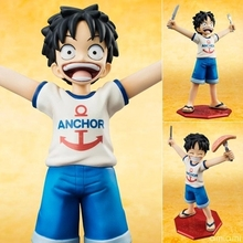 Buy Anime One Piece POP Monkey D Luffy Childhood ver. PVC Action Figure Collectible Model Toy 10cm KT644 for $10.07 in AliExpress store