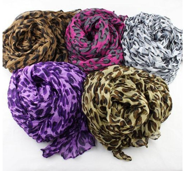Womens Scarf Very unique crinkle super long Neck Scarf Cotton ASC001(China (Mainland))