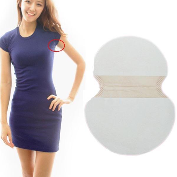 24PCS Disposable Underarm Sweat Guard Pads Armpit Sheet Dress Clothing Shield, Absorbing deodorant Antiperspirant Health Care(China (Mainland))