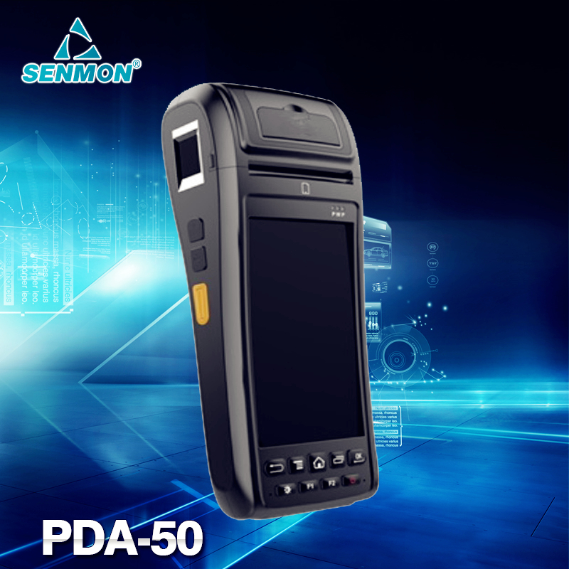 Android Bluetooth Barcode Data Terminal Handheld PDA Data Collector + WIFI+GPRS+58mm thermal printer(China (Mainland))