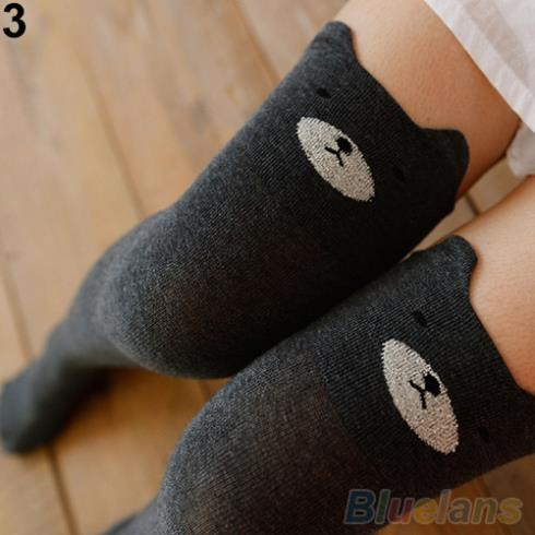 Women Cute 3D Cartoon Animal Pattern Thigh Stockings Over Knee High Socks 1PQM 1U9W 4OA6