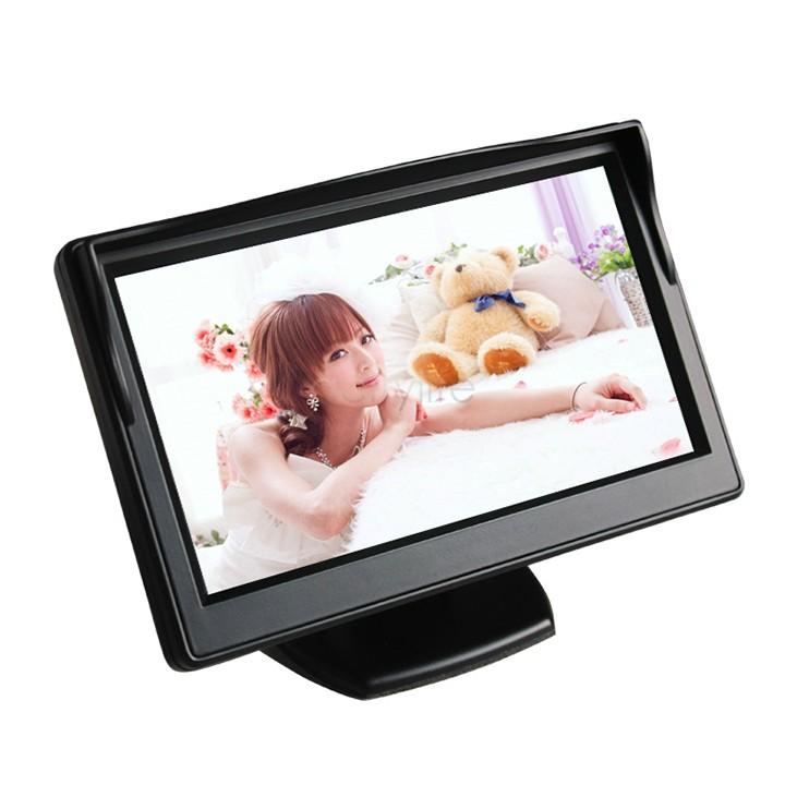 "5"" TFT Color LCD Car Parking Rear View Reverse Monitor High Resolution HD 800*480 (no 320*240) Reversing Camera 22(China (Mainland))"